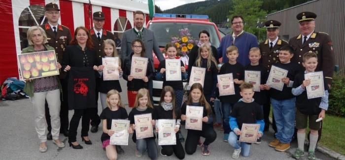 Feuerwehrfest mit Fahrzeugsegnung