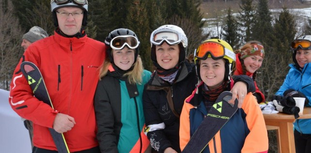 Schi-Meisterschaften des BFV Weiz in Falkenstein