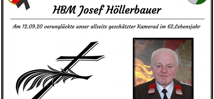 HBM Josef Höllerbauer verunglückt